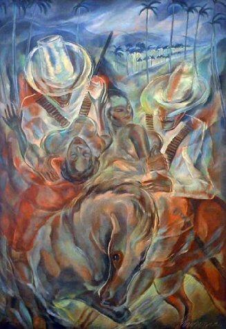 El rapto de las mulatas, de Carlos Enriquez