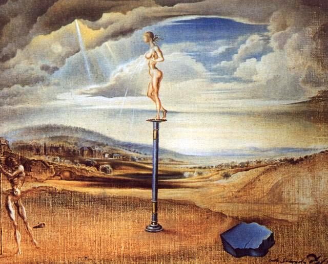 Fuente de Leche, de Salvador Dalí