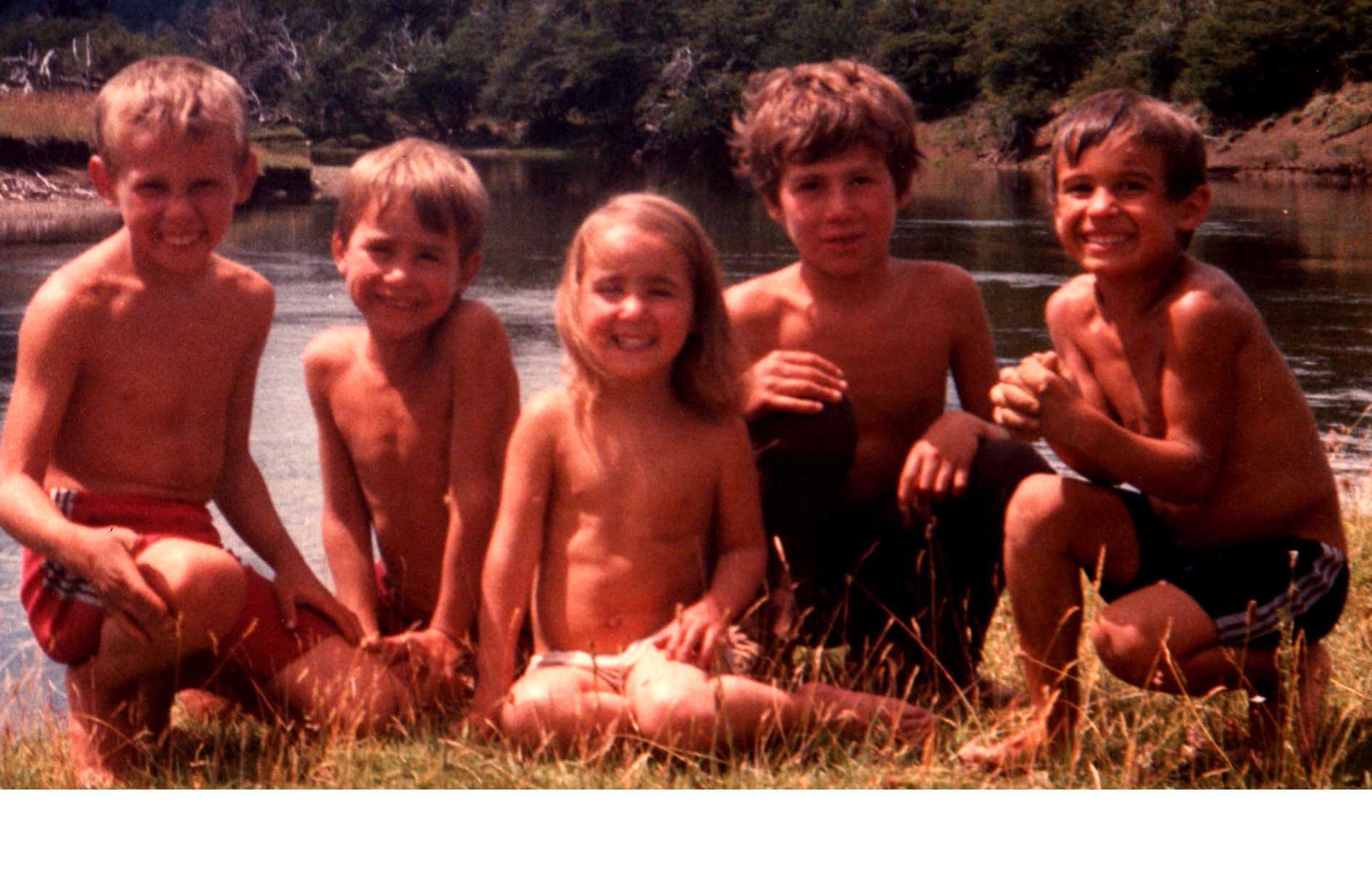 Mis cinco hijos, hace muchos años