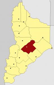 Ciudad de Zapala, cabecera del departamento del mismo nombre.